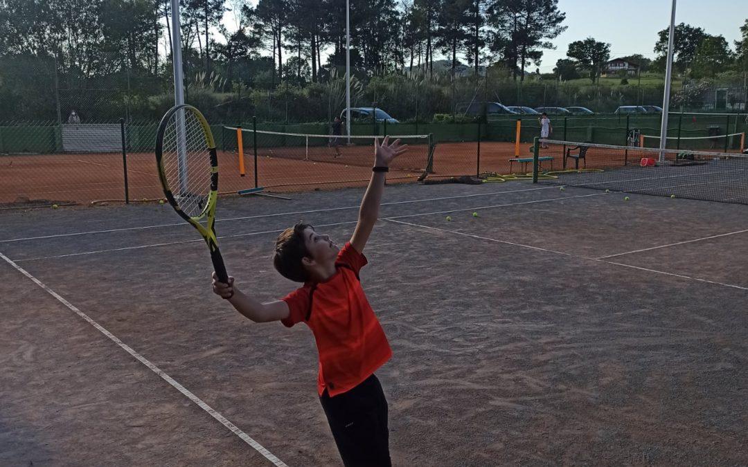 Reanudamos los entrenamientos en el Club de Tenis Plentzia