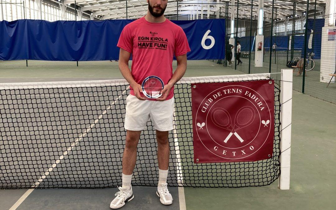 Alejandro Herrera queda Subcampeón en el Open de Getxo